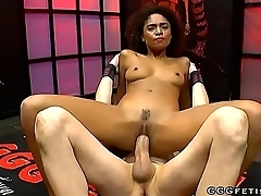 Black cutie luna corazon loves extreme cums and bigcocks