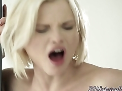 Smalltits euro fucked by bfs black prick