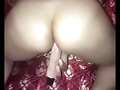 My friend plays with pussy