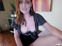 Fucking my busty mature stepmother to calm her down