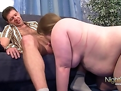 Fat Big Tit Slut Lets Big Cock Fuck Her