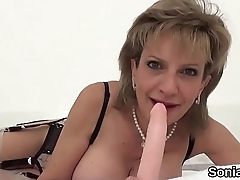 Unfaithful british milf gill ellis exposes her huge titties