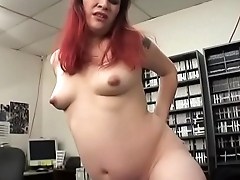 Horny stud getting his dick sucked by two cock craving babes