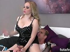 Girls screw men ass hole with big strapons and ejaculate spunk