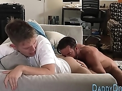Teen stepsons ass tongued