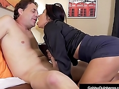 Thick Nippled Latina Gabby Quinteros Fucks Her Boss!