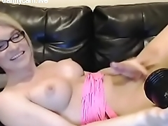 Self Facial on the Couch - trannycam.live