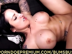 BUMS BUS - Public van fuck with voluptuous alternative German Queen Paris