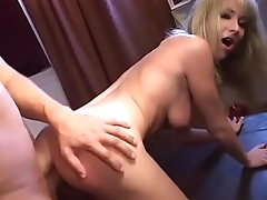 Cute college blonde Hillary Scott and Tyla Wynn gets cum after hard anal drilling