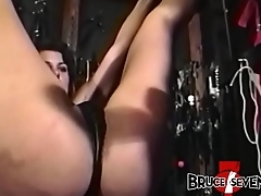 BRUCESEVENFILMS - Cute sub Bambi Love bound and whipped