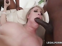 Dee Williams gets Balls Deep Anal, DAP, Gapes with Buttrose