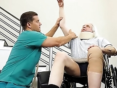 Athena'_s Cucked Husband Watches While She Gets Cock Therapy