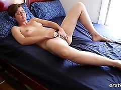 Insatiable Immie Rubbing her Sweet Pussy