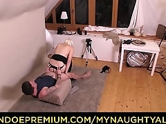 MY NAUGHTY ALBUM - Czech babe Lucy Shine gets banged during photo sex session