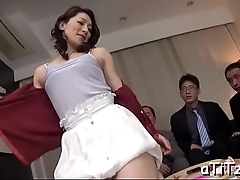 Stud gives wet creampie to hot oriental babe with lovely love melons
