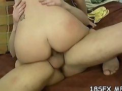 Adorable girl wants to feel weenie inside her, until she cums