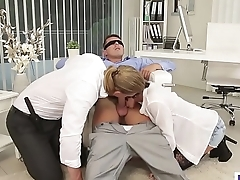 Bisex birthday party - Anabelle, Nick Gill and Mark Black