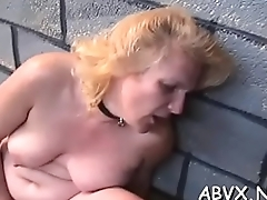 Coarse lesbian bondage in amateur scenes along hot sweethearts