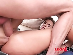 Kristy Black assfucked by monster cocks once more