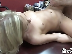 Alli Kay Banged On The Casting Couch