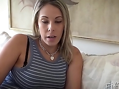 Mom Helps Son with Chronic Masturbation - Mom Fucks Son - Nikki Brooks