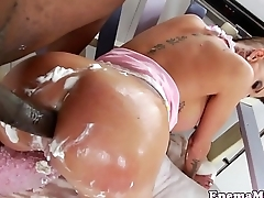 Wam fetish babe bent over and assfucked