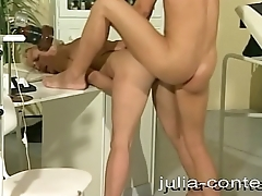 She is at the doctor and gets fucked.
