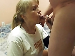 Blowjob from a old friend