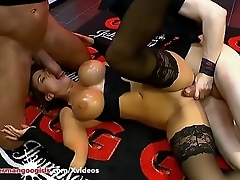 Big Tits and Cum for Beautiful Chloe La Moure - German Goo Girls
